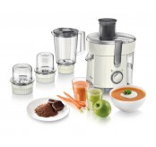 Philips HR1847/05 Viva Collection 4-In-1 Set Juicer Blender